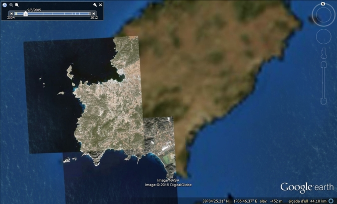 Google Earth Eivissa
